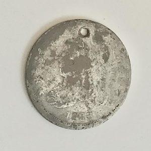 1836 dime found at Sandusky