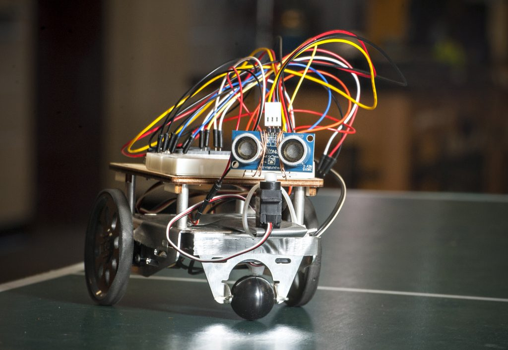 This Student Built Robot Can Navigate A Maze Almost