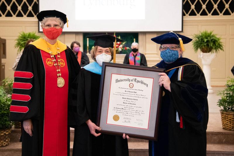 Dr. Alison Morrison-Shetlar, Sheila Garren, Dr. Allison Jablonski