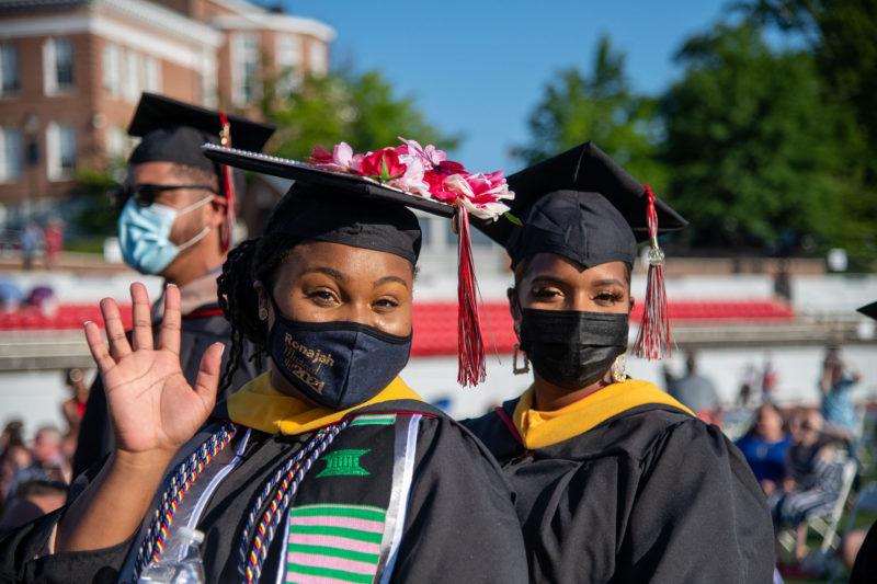Graduate Class of 2021 students