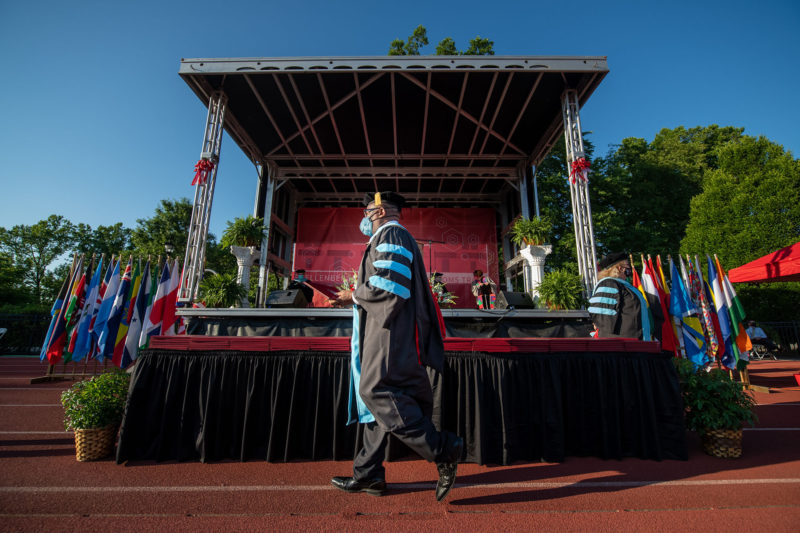 Class of 2021 graduate students Commencement