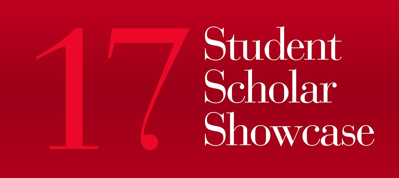 20th annual student scholar showcase celebrates academic