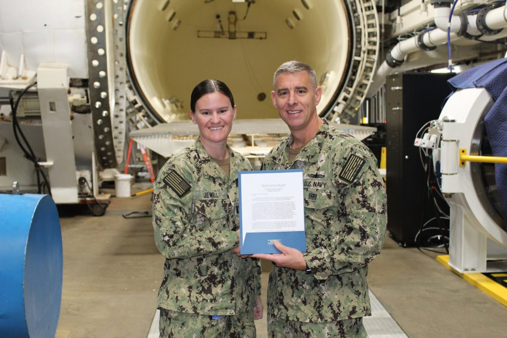 Navy honors Lynchburg grad for diving research