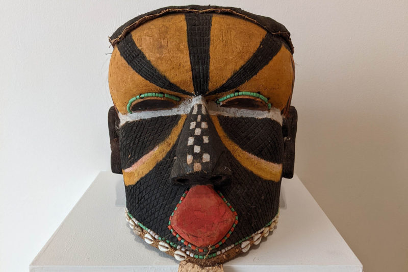 African mask from Daura collection