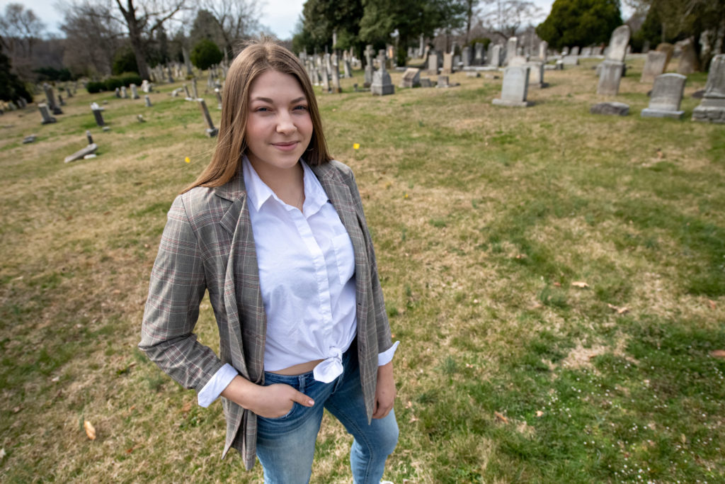 Bonner Leader researches 'servants' section' at cemetery