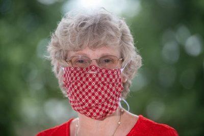 Alison Morrison-Shetlar in mask