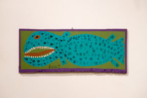 Annie Toliver Fish painting