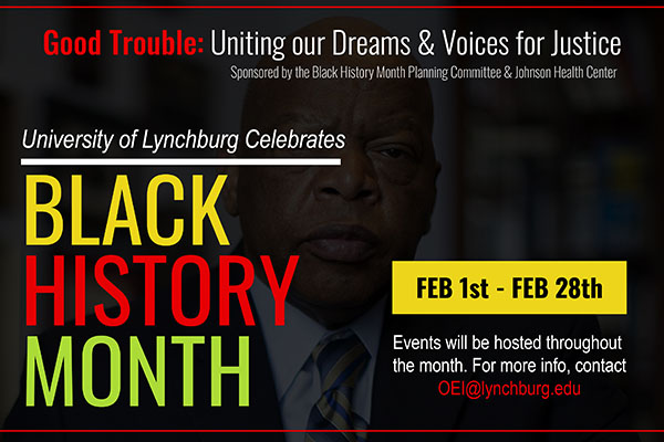Virtual events celebrate Black History Month 2021 at Lynchburg