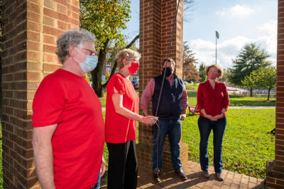 Victory Bell ringing on GiveDay 2020