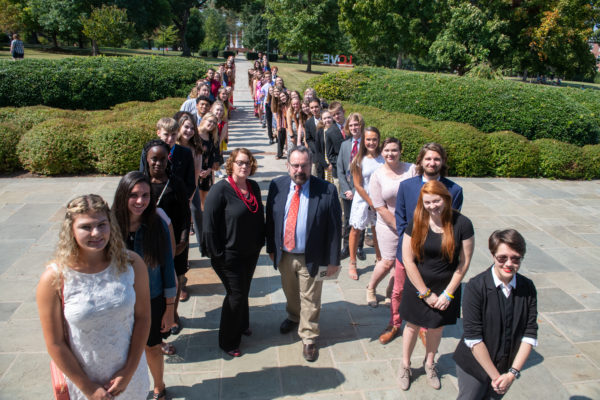 'Freshtovers' inducted into Westover Honors College