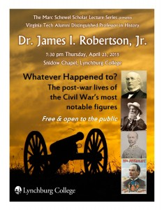 Civil War talk by James Robertson