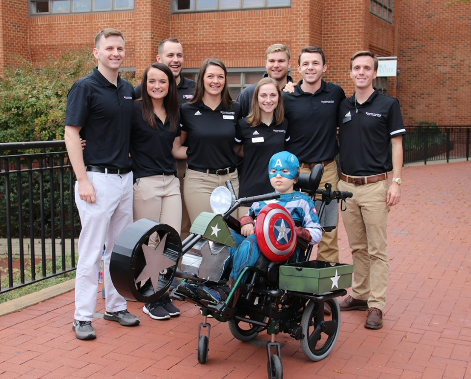 Hallowheels Captain America team