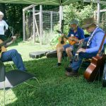 Playing music at Claytor Nature Center