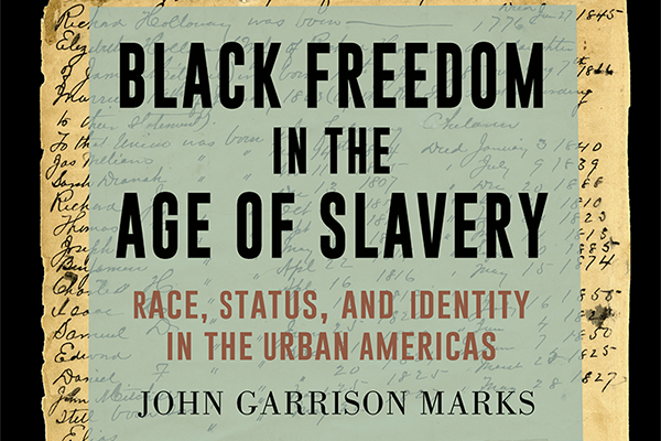 Westover alum's first book tells story of 'Black Freedom in the Age of Slavery'