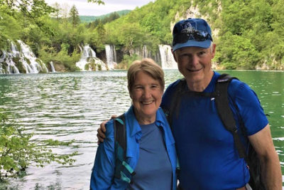 Laurie and Bob Dolian in Croatia