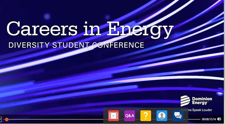 Diversity Student Conference screenshot