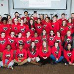 Students participate in superhero-themed leadership workshop