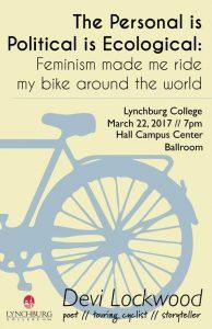 Gender Studies Lecture: Devi Lockwood @ Hall Campus Ballroom, Lynchburg College   Lynchburg   Virginia   United States