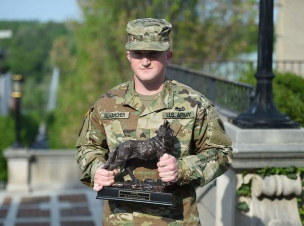 Student competes for 'Best Warrior'