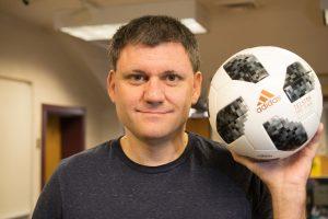Dr. John Eric Goff World Cup ball