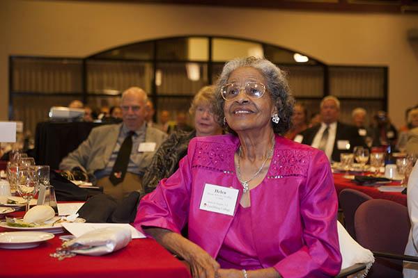 Helen Mundy Witt legacy inspires MEd scholarship, Alumni House dedication