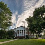 Hopwood Hall and big sky