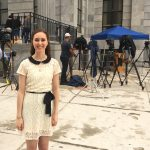 Journalism student helps cover Cosby trial