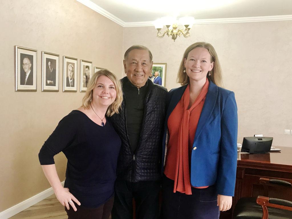 Lynchburg faculty teach leaders in Kazakhstan