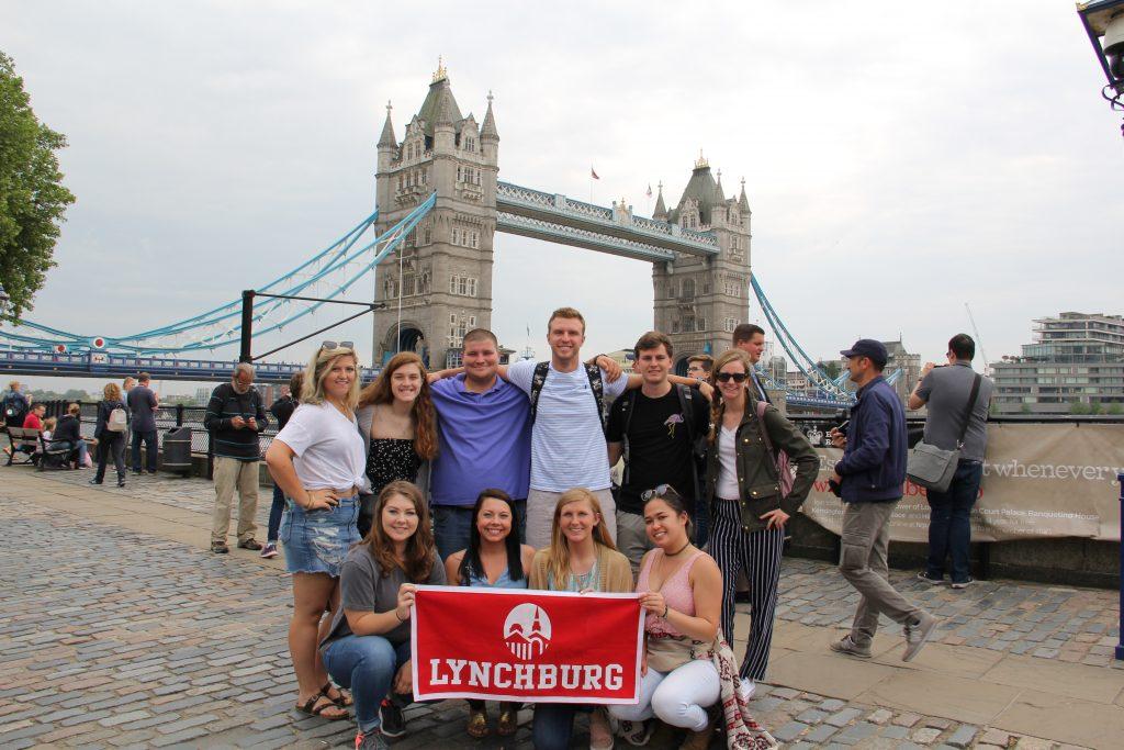 Students at Tower Bridge