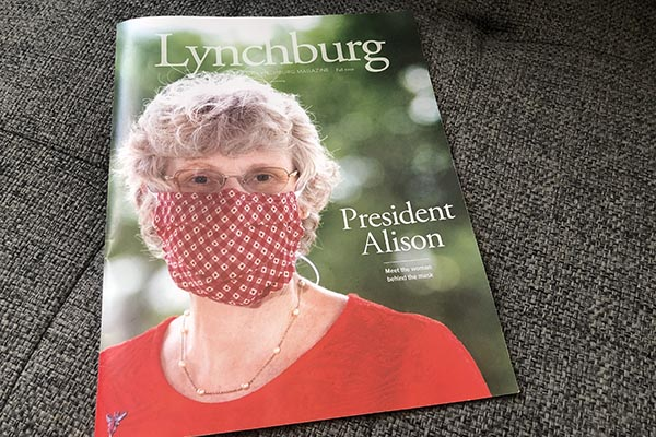 Fall 2020 Lynchburg Magazine celebrates new president, #HornetsTogether spirit amid pandemic