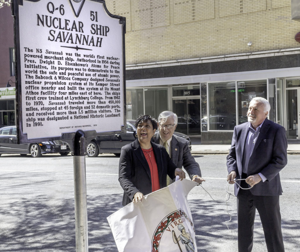 New historical marker honors University's connection with nuclear history
