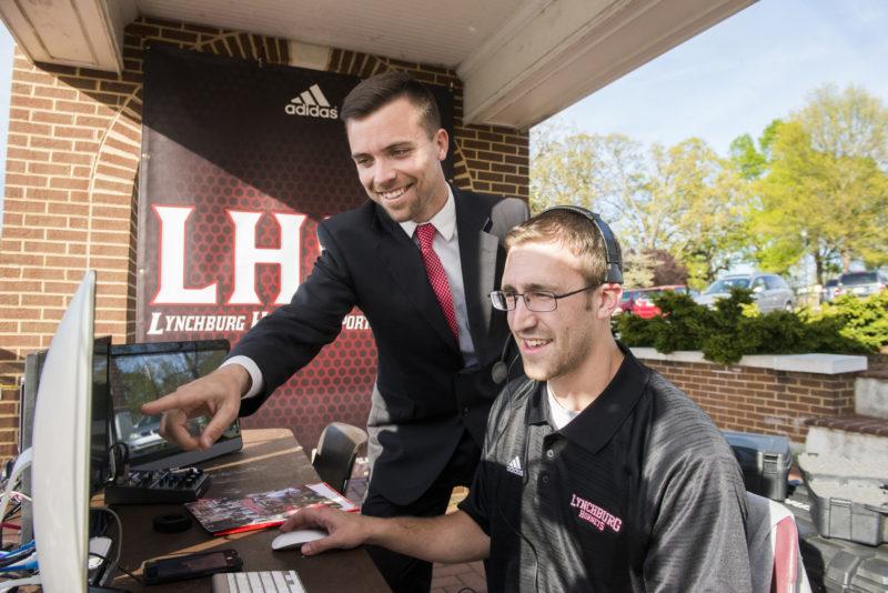LHSN Joe Hutzler and student