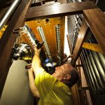 Snidow Chapel organ renovation begins