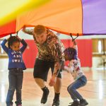 Physical education students give kids a Head Start on fitness