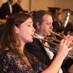 Wind Symphony and Orchestra trumpeters