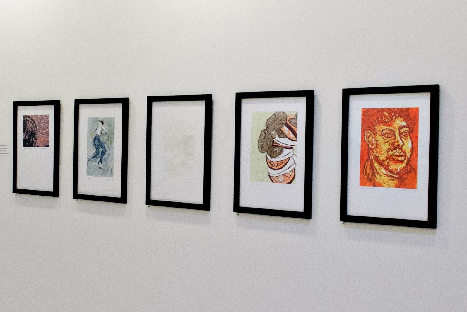 Exhibitions highlight prints and drawings by students and faculty