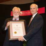 Will Kesling receives the Distinguished Alumni Award