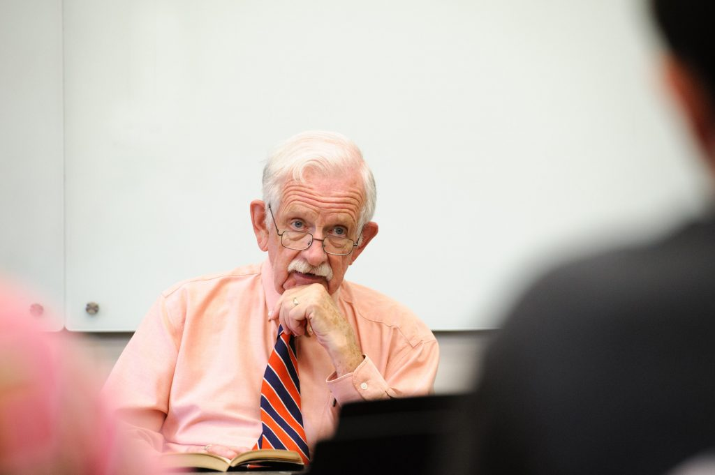 Dr. Clifton Potter '62 to retire after 54 years of teaching