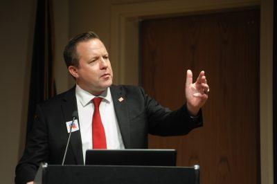Corey Stewart at University of Lynchburg