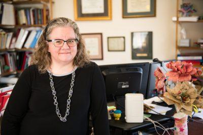 Allison Jablonski in her office