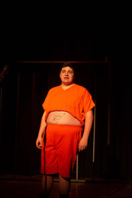 Matt Pnealva performs in the Cell Block Tango