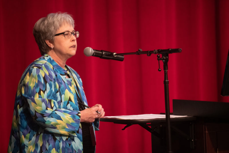 Denise Scruggs at Conference on Aging