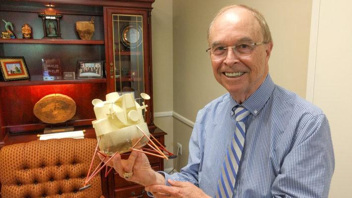 Moon landing anniversary sparks NASA memories for University of Lynchburg president