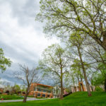 Campus entrance view