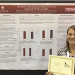 Athletic Training graduate wins national award for research