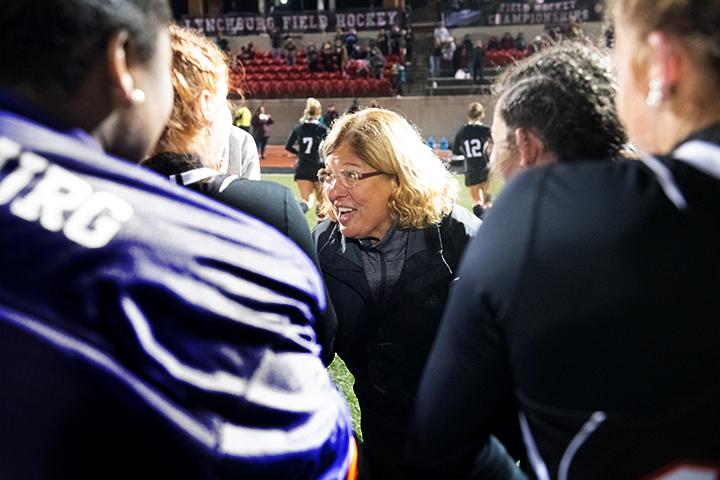 Enza Steele coaching