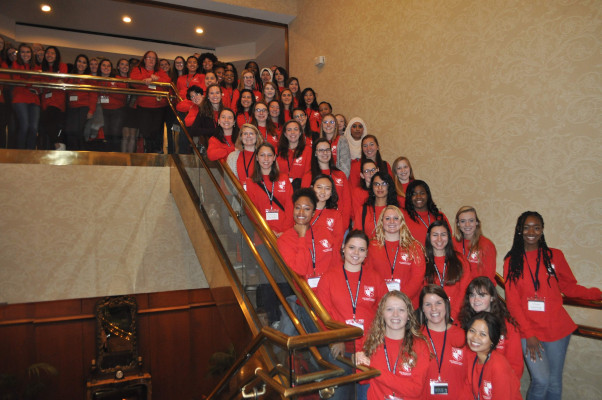 Lynchburg students attend first VFIC women's leadership conference