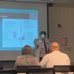 Richard Szymczyk '11 teaching class