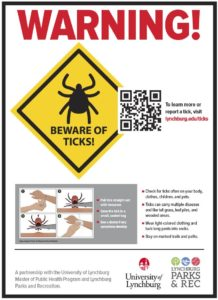 tick signage
