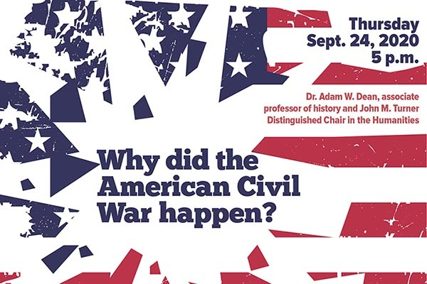 Livestreamed Turner lecture asks 'Why did the American Civil War happen?'